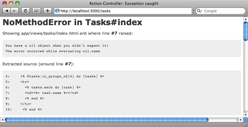 The application throws an error if the number of tasks doesn't divide exactly into the groups.
